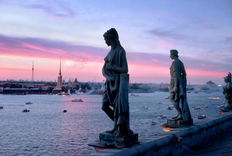 ночных экскурсий по Санкт-Петербургу